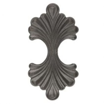 Ornamento Decorativo Ferro Fundido 24×12