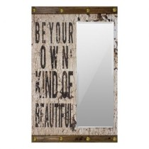 Espelho Decorativo Beyond Your Kind Of Beautiful