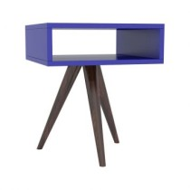 Mesa Lateral Contemporanea Azul