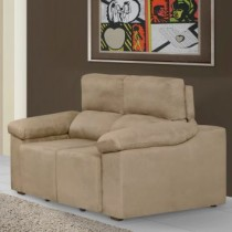 Sofa Retratil e Reclinavel 2 Lugares Bege