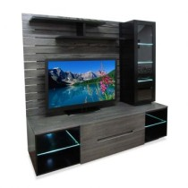 Home Theater 004 Deck L136 Preto Laqueado