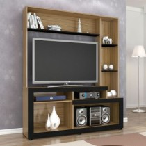 Home Theater Liz Nogal Com Preto Tx Benetil Moveis