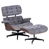 Poltrona Eames Classica Courissimo Jeans By Haus