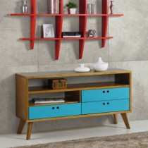 Rack Holly Madeira Com Azul Maxima
