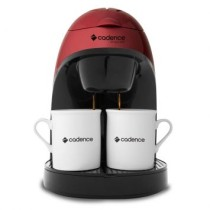 Cafeteira Single Red 2 Cafes Cadence 220 V 450W