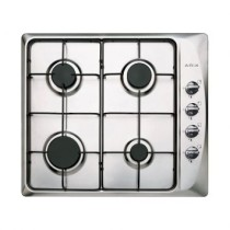 Cooktop Arix Gas Lateral 60cm stop Inox Arix