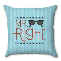 Capa De Almofada Mr. Right