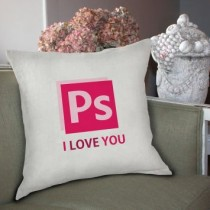 Capa de Almofada Ps I Love You 40×40