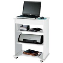 Rack para Notebook Artely com Tampo Portatil Branco