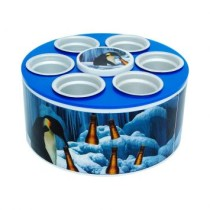 Cooler 3G Pinguim 350 Ml Azul Doctor Cooler
