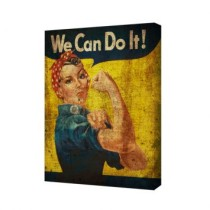Quadro We Can Do It Old 25X20 Haus for Fun
