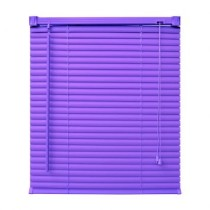 Persiana Up Pvc 25 mm 140X130 Violet