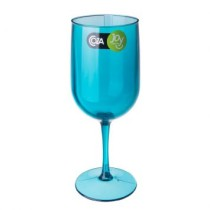 Taca igua Fun 380 Ml Verde Transparente