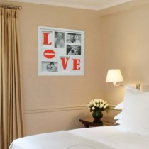 Painel Bee Collection Words Love 4 Fotos 10x15cm Branco Kapos