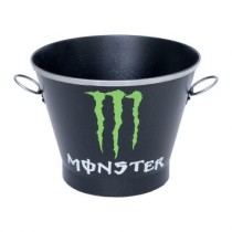 Balde De Gelo Monster Preto Doctor Cooler