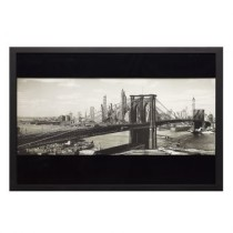 Quadro The BrooKlyn 2 Preto 60 x 85 cm