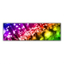 Quadro Colorful Lights 160×48 GrupoLush