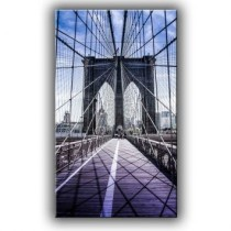 Quadro Brooklin Bridge in NY 140×82 GrupoLush