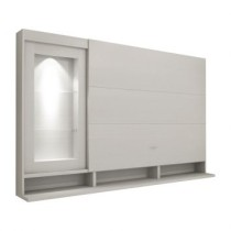 Painel Para Tv Lumiere 133293 Branco Tx Benetil Moveis