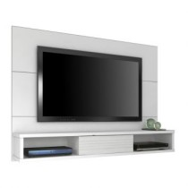 Paineis para TV Supreme 135 cm Branco Maderado Robel Moveis