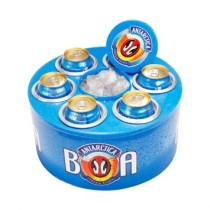 Cooler 3G Antartica Lata 350 Ml Azul Doctor Cooler