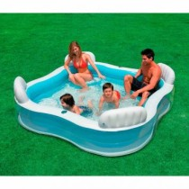 Piscina Familiar com Assentos 882 Litros 56475 Intex