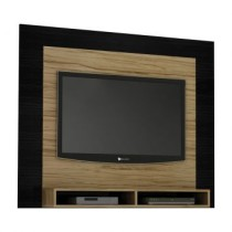 Paineis para TV Aero 110876 Nogal Com Preto Tx Benetil Moveis