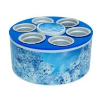 Cooler 3G Ice Lata 350 Ml Azul Doctor Cooler