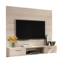 Paineis para TV Flat Plus Naturale Texture Alto Relevo HB Moveis