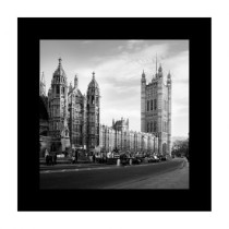 Quadro P&B London 45×45 GrupoLush