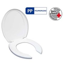 Assento Sanitario Plus Care Duraguard Tupan – Branco