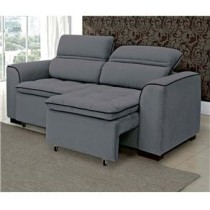 Sofa Linoforte de 2 lugares Retratil e Reclinavel modelo Athina
