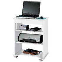 Rack para Notebook Artely com Tampo Portatil – Branco