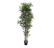 Bambu Artificial Leaf Verde 175Cm