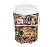 Cooler 42 Latas Mix Rotulos Estampado