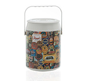 Cooler 8 Latas Mix Rotulos Estampado