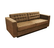 Sofa 3 Lugares Albany Sued Cafe 215Cm