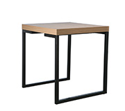 Mesa Lateral Forest Canyon/ Preto 55X55X60H