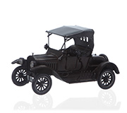 Enfeite Carro Retro Land Preto 18X29Cm