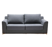Sofa 3 Lugares Extensivel Hayden Wash Azul