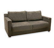 Sofa 2 Lugares Extensivel Jidda Master Sued Chocolate