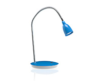 Luminaria Office Led Luminous Bivolt Azul 55Cm