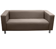 Sofa 3 Lugares Top Neo Pu Canvas Avela