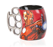 Caneca Soco Ingles Marvel Ironman 350Ml