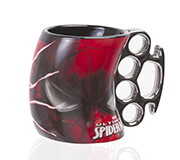Caneca Soco Ingles Marvel Spider 350Ml