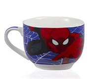 Caneca Sopa Marvel Spider 650Ml