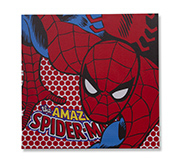 Quadro Canvas Led Marvel Spider 40X40Cm