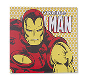 Quadro Canvas Led Marvel Ironman 40X40Cm