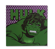 Quadro Canvas Led Marvel Hulk 40X40Cm